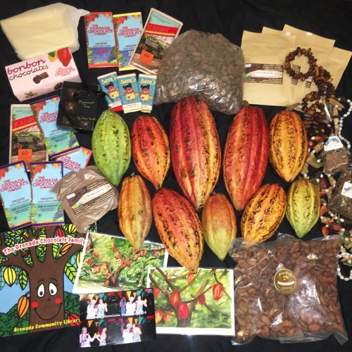 Grenadian cacao goodies!