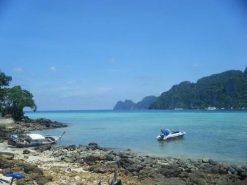 Photo Taken on Phi Phi Don in 2009