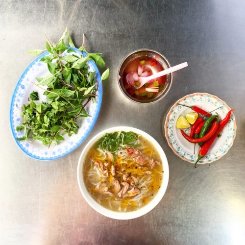 Delicious Phở Bờ breakfast in Hoi An