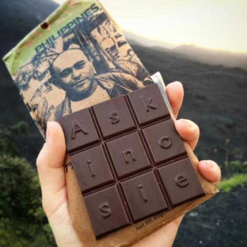 Volcano hike fuel: Filipino Askinosie