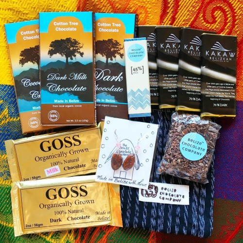 My Belizean chocolate collection