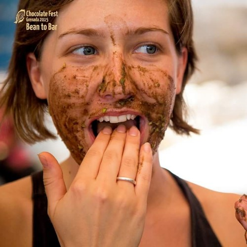 Some of the chocolate beauty products were good enough to eat! (Photo: Grenada Chocolate Festival)