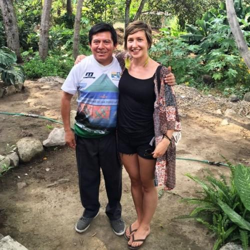 Myself with Diego of Diego's Chocolate