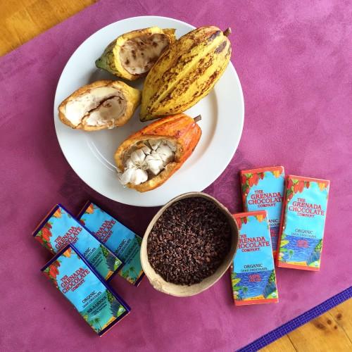 Essential materials for Chocolate Yoga Meditation!